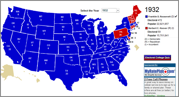 us electoral votes map with Us Electoral Maps Before And After Great Depression on United States presidential election in Florida  2016 in addition Us Highway Map With Time Zones additionally Boundary map and polling places in addition 1888 moreover Usa Map Hawaii Located.