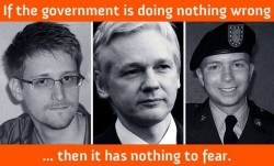 If the government is doing nothing wrong, then it has nothing to fear